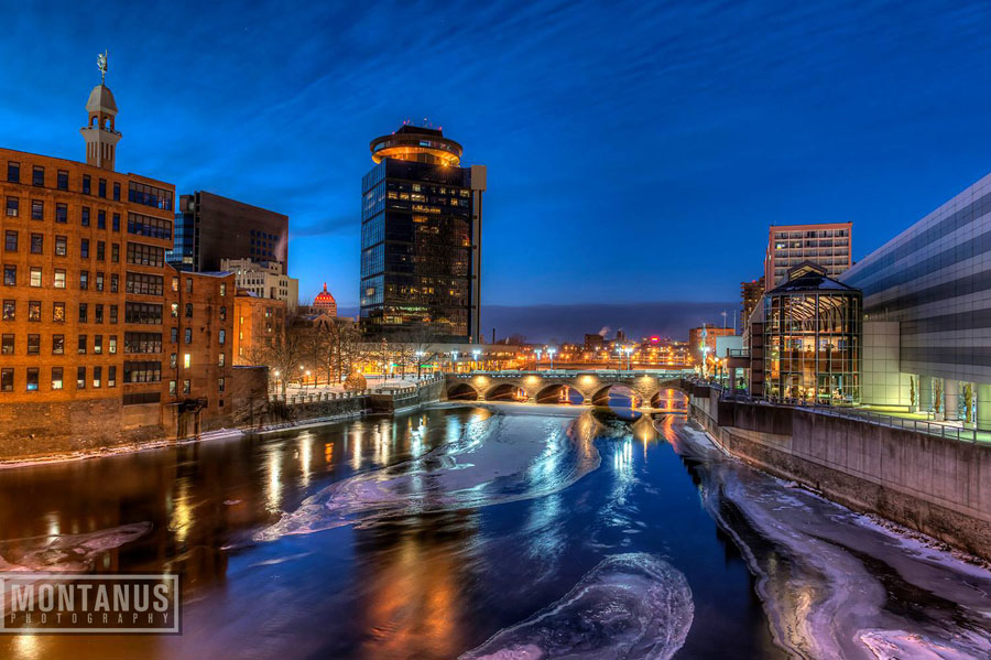 Pictures Of Downtown Rochester By Jim Montanus