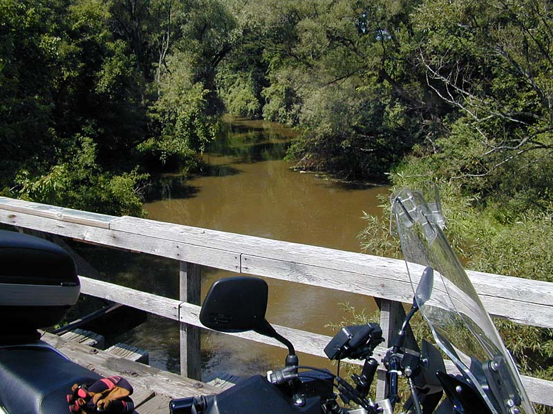 Jim Montanus' Motorcycle Ride along Oatka Creek and the