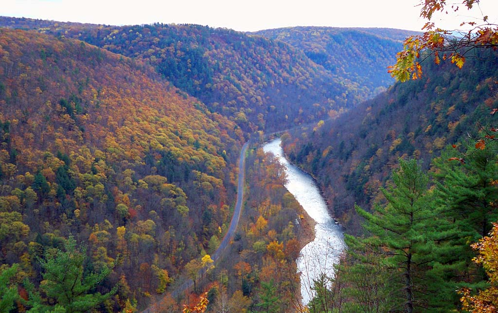 Dual Sport Motorcycling Photos In And Around The Pennsylvania - Grand canyon pa map
